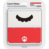 NEW NINTENDO 3DS COVER PLATES N. 047 (MARIO MUSTACHE)