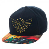 Nintendo Zelda Sublimated Bill Snapback