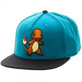 Pokemon Charmander Color Block Snapback