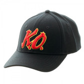Street Fighter V K.O Black Flex Cap
