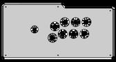 Qanba Crystal Plexi Overlay