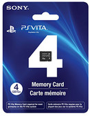 4GB PlayStation Vita Memory Card