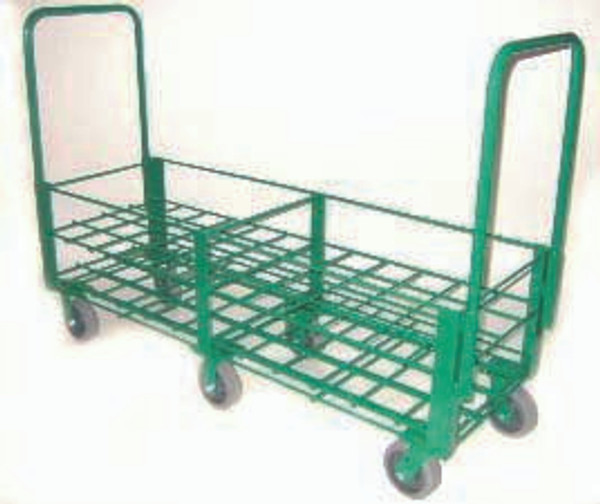 """HEAVY DUTY OXYGEN CYLINDER CART FOR 48 D OR E (4.38"""" DIA.) STYLE OXYGEN CYLINDERS"""