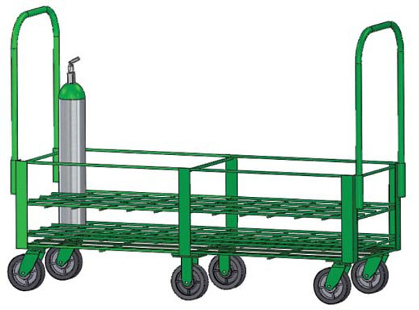 FWF D or E Type Cylinder-40 HEAVY DUTY CART
