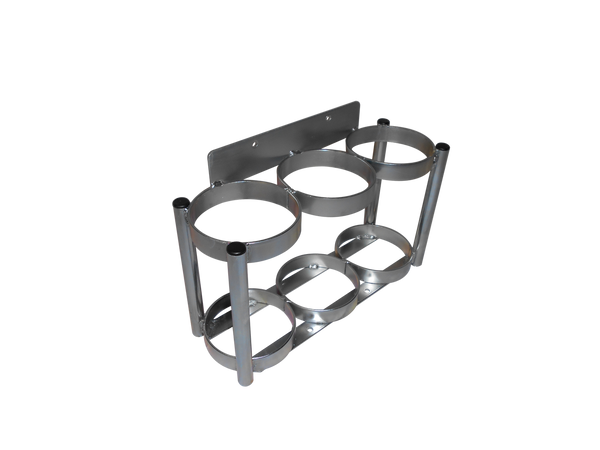 Image only holds 3 cylinders, actual rack holds 9