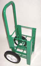 "Heavy Duty Oxygen Cylinder Cart For Four D or E (4.38"" DIA) Style Oxygen Cylinders (1060HD)"