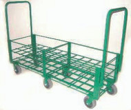 "Heavy Duty Oxygen Cylinder Cart For 48 D or E (4.38"" DIA) Style Oxygen Cylinders (1081HD)"