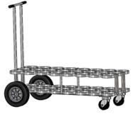 "Oxygen Cylinder Cart for 24 Jumbo D/M22 (5.25"" DIA) Oxygen Cylinder (1135-24)"