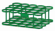 "Oxygen Cylinder Rack for 20 M60 (7.25"" DIA) Oxygen Cylinders (1139-20)"