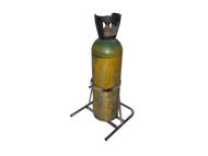 """Oxygen Cylinder Rack for One M60 (7.25"""" DIA) Oxygen Cylinders (1141-1)"""
