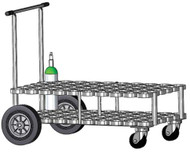 "Oxygen Cylinder Cart Holds 60 M6 (3.20""DIA) Oxygen Cylinders (2083)"