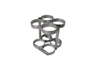 "Oxygen Cylinder Rack Holds 60 M6 (3.20""DIA) Oxygen Cylinders (2085)"