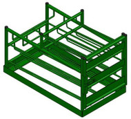 Layered Multi Cylinder Rack for Six D/E and Four M6 Cylinders (6603D)