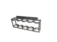FWF D / E Type 5 Capacity Cylinder  Wall Mount Rack