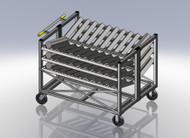 Ingot cart / Billet Cart / Heavy Material Cart