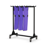 Lead Apron Hanger Rack Holds 8