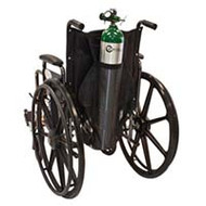 Wheelchair Cylinder Bag for One D or E Style Cylinders