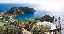 Gorgeous Eastern Sicilian Coastline, home to the Lamb Agrodulce