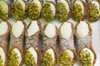 Sicilian Cannoli with Ricotta and Pistachio filling