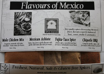 Mexican & South American Spice Set (4 x 30g)