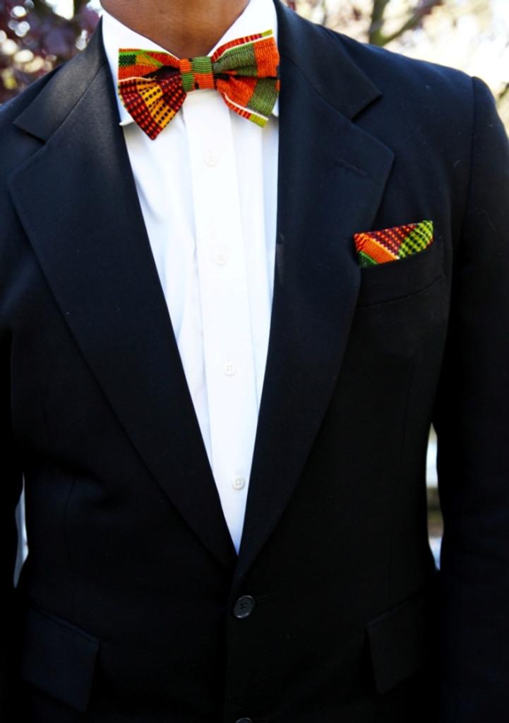 Kente Bow Tie SET