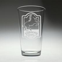 Prancing Pony Harry Potter inspired glass