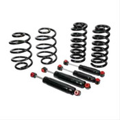 "Free Shipping.  Classic Performance lowering kits are custom-built kits that feature gas-charged monotube shocks and coil springs that are both made out of superior quality materials to ensure long-lasting dependability and performance.  3"" Front/2"" Rear"