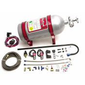 Free Shipping in the United States! Send a mixture of nitrous and essential enriching fuel into the intake runner and allow you to select boost. Kit includes the (empty) bottle, solenoids, switches, fittings, stainless braided hose, and all hardware needed for installation.