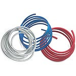 Russell aluminum fuel lines are an economical way to finish any performance fuel system. They're easy to form and come available in popular sizes to complement any street machine.  Tubing Material:Aluminum  Tubing Outside Diameter:0.375 in.  Tubing Finish:Blue anodized  Tubing Length (ft):25.00 ft.