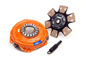The Dual Friction clutch is engineered for those who are looking for the ultimate in street/strip holding power and performance without sacrificing pedal effort and driver control. While the Dual Friction has been engineered primarily as a street clutch it can be used in mild competition applications.  Patented centrifugal weight design (where applicable) Patented Dual Friction design Patented Ball bearing pressure plate Light pedal effort High quality friction material Increased holding capacity Smooth engagement  Perfect for up to 175 HP Nitrous or a forced induction setup