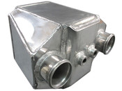 "This is a Huge Liquid to Air Intercooler, Perfect for High Power Applications, Supports 1000+ HP  - Core Size 9""x6""x8.5"" - Overall Size 14""x12""x8.5"" - 3"" Air Inlet Outlet - NPT 1/2 Water Inlet Outlet - 8.5"" Thick"