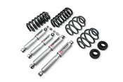 "Belltech Lowering Kits With Street Performance Shocks Stage 3 complete solution with Street performance shock absorbers  63-72 Chevrolet C10 2"" Front/4"" Rear drop with Street Performance Shocks"
