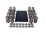COMP Cams® offers two types of kits to replace stock valve train components for more useable horsepower and a higher rpm operating range. The first is our RPM kit, which includes pushrods, valve springs and retainers. The second RPM plus kit has the same components but also includes lifters allowing for a complete valve train buildup for a new cam.