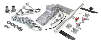 Hello LSx Guys! Get your B-Body on the road daily - get your project on the road with this swap kit!  1973-1990 B-Body LS Conversion Kit  This swap kit is for the 1977-1990 Caprice, Parisienne, LeSabre, Delta It was designed around our LH8 oil pan kit. The frame brackets bolt into existing holes in the frame so you know the engine will have clearance for accessory drives, factory AC box, power brake booster, and aftermarket suspension components. Unlike others, our kit positions the engine so there is no steering interference and maintains the proper drive-line angle for smooth highway cruising. We offer a complete line of Muscle Rods headers that give unparalleled performance and ground clearance with sizes that are matched to your engine combo. These combined parts offer an easy, strong, and clean installation of your LS engine