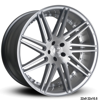 "Now you can ""sexify"" your vehicle with these BEAUTIFUL concave wheels from RoadForce! Priced per wheel. Order them staggered if you want to have that DEEEP concave look in the rear.  Available Sizes: 22x9, 22x10.5 - 5x112 - 5x114.3 -5x120 - Silver Brush Face  They are TPMS Compatible! Order yours today!"