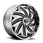 "H612 - PWRFL DUB Spinners are available from 22"" - 32"" with custom finishing options. NEW DUB ""Stunnrz"" Spinners come standard with our new 2-piece staggered directional base wheel, the Dazed. ""Stunnrz"" are available in the following staggered sizes and specs: -24x9, 24x9, 26x9, 26x10, 28x9, and 28x10."