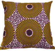 Aztec Green Throw Cushion Cover