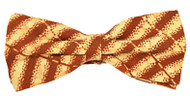 BROWN MESH BOWTIE