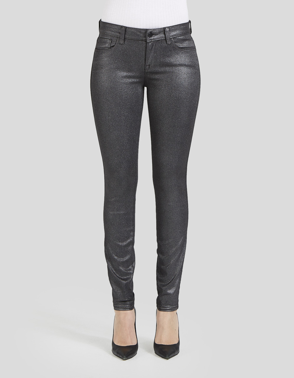 HIGH WAIST ANKLE SKINNY - Elle in Andromeda