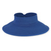 SEWN RIBBON ROLL UP BRIM 4.5""