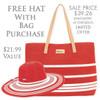 OCHER BAG & HAT
