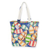 "ROWBOAT REFLECTION SHOULDER TOTE | 20.5""x 6.5"" x 15"""