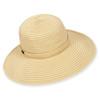 ADAMINA RIBBON HAT W/ VELCRO CLOSURE
