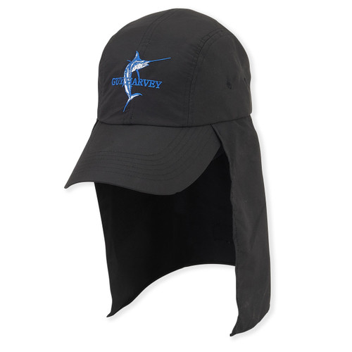 GUY HARVEY HAT W/SWORD EMB. BRIM 3.5""