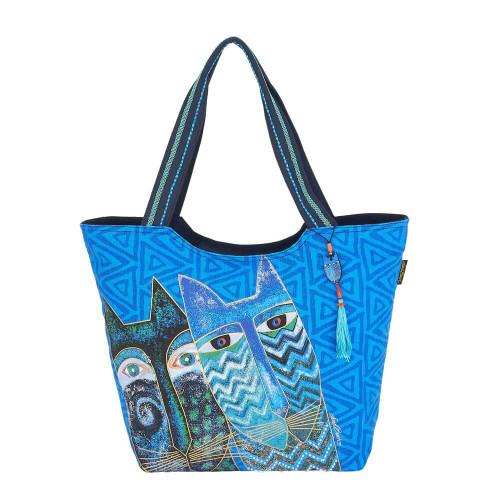 """Blue Cats Scoop Tote 