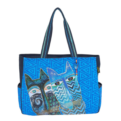 "Blue Cats Travel Bag | 19.5""x 5""x 15"""