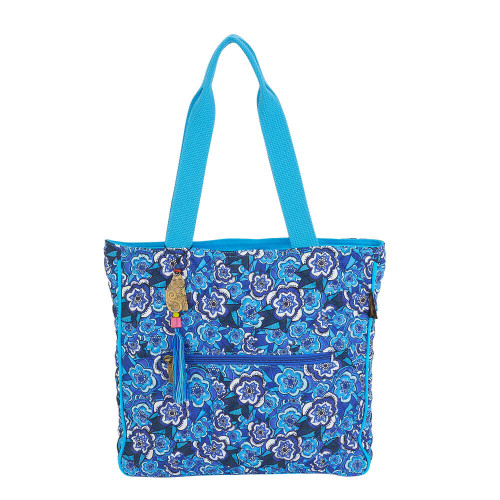 "Got the Blue Shoulder Tote | 14.5""x 14.5""x 3"""