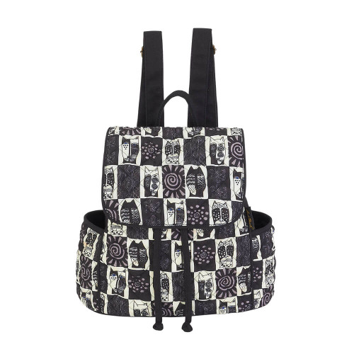 """Black & White Cats Backpack 