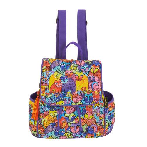 """Feline Tribe Backpack   10.5""""x 12""""x 5.5"""""""