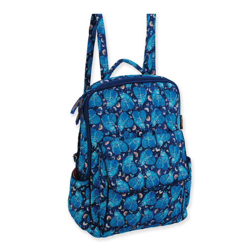 "Indigo Cats Backpack | 15.75""x 11.75""x 5.75"""